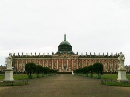 Palace Potsdam in Sansoucci Park