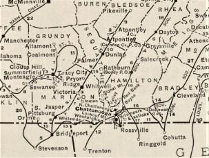 1924 Rand McNally Atlas Plate