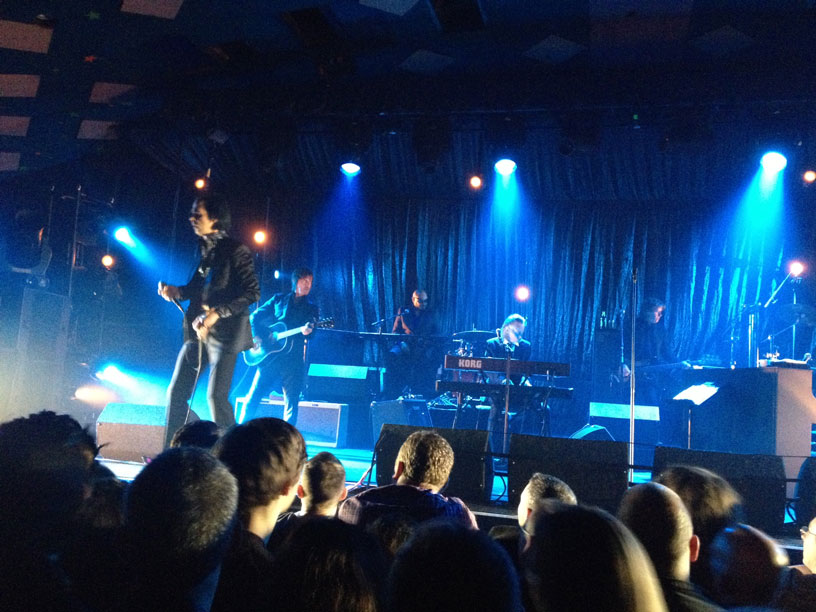 Nick Cave and the Bad Seeds, Glasgow Barrowland, Halloween 2013