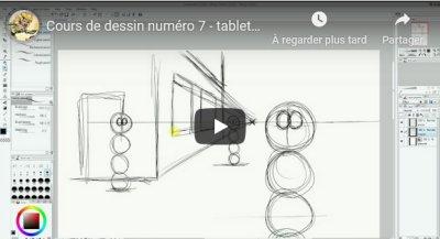 Cours de dessin 7 : la perspective