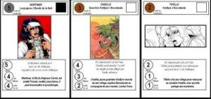 Le jeu de cartes Katura