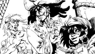 Dread Mac Farlane et les Pirates Mauves