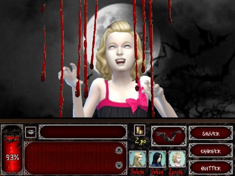 """Mes jeux créés avec """"Les Sims"""" Chasse"""