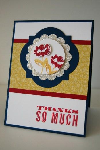 Stampin up_oh hello_dankeskarte_mit silber