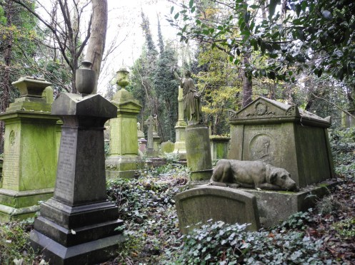 London_Highgate_islington_hund