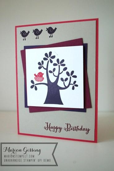 stampinup_der wald ruft_Geburtstagskarte