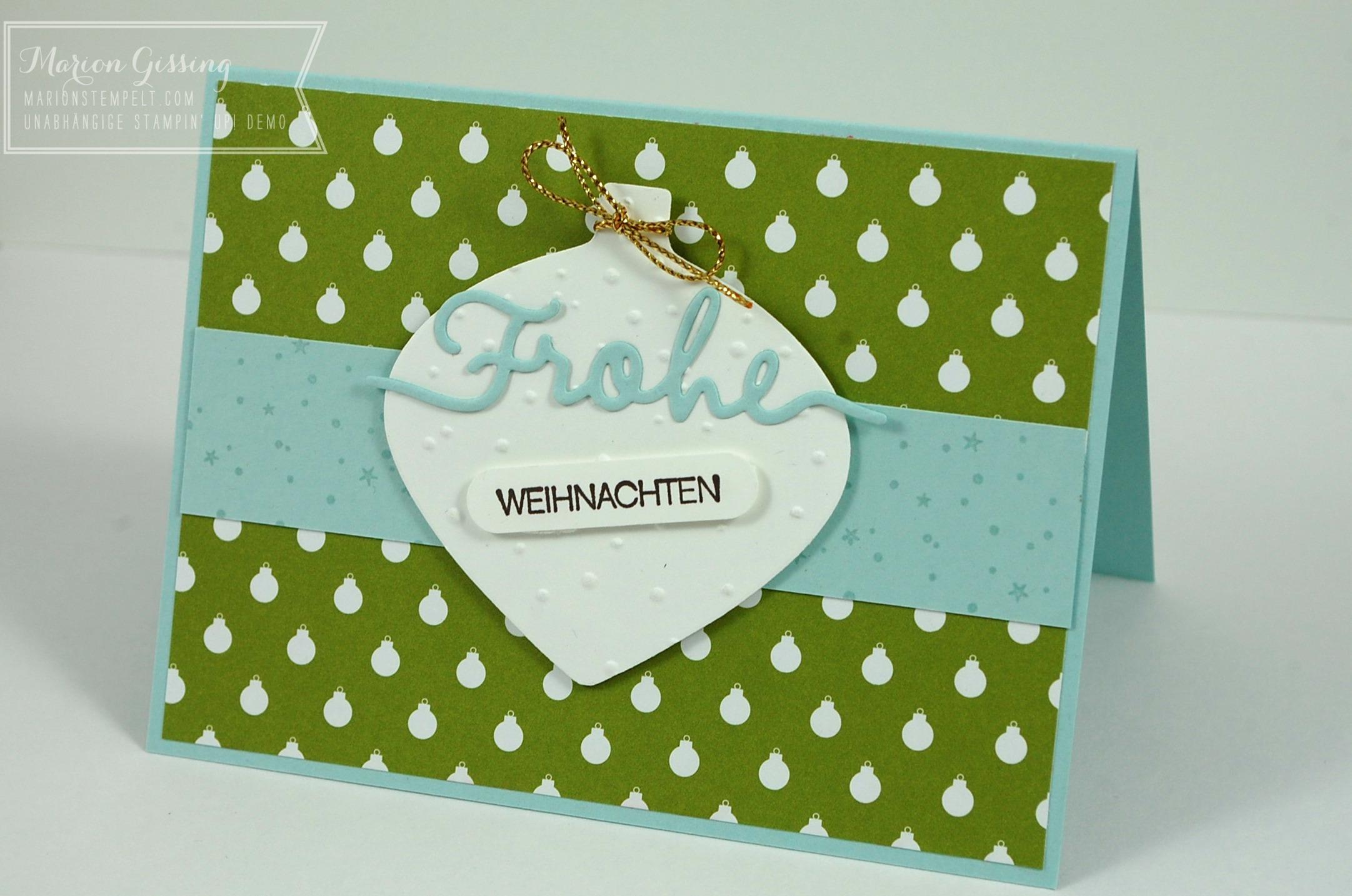 Christbaumkugeln Brombeer.Stampin Up In Munchen Marionstempelt Stampin Up Workshops
