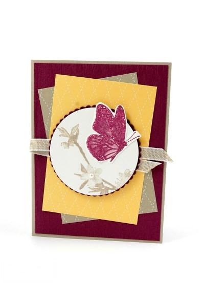 Stampin Up Geburtstagskarte Schmetterling
