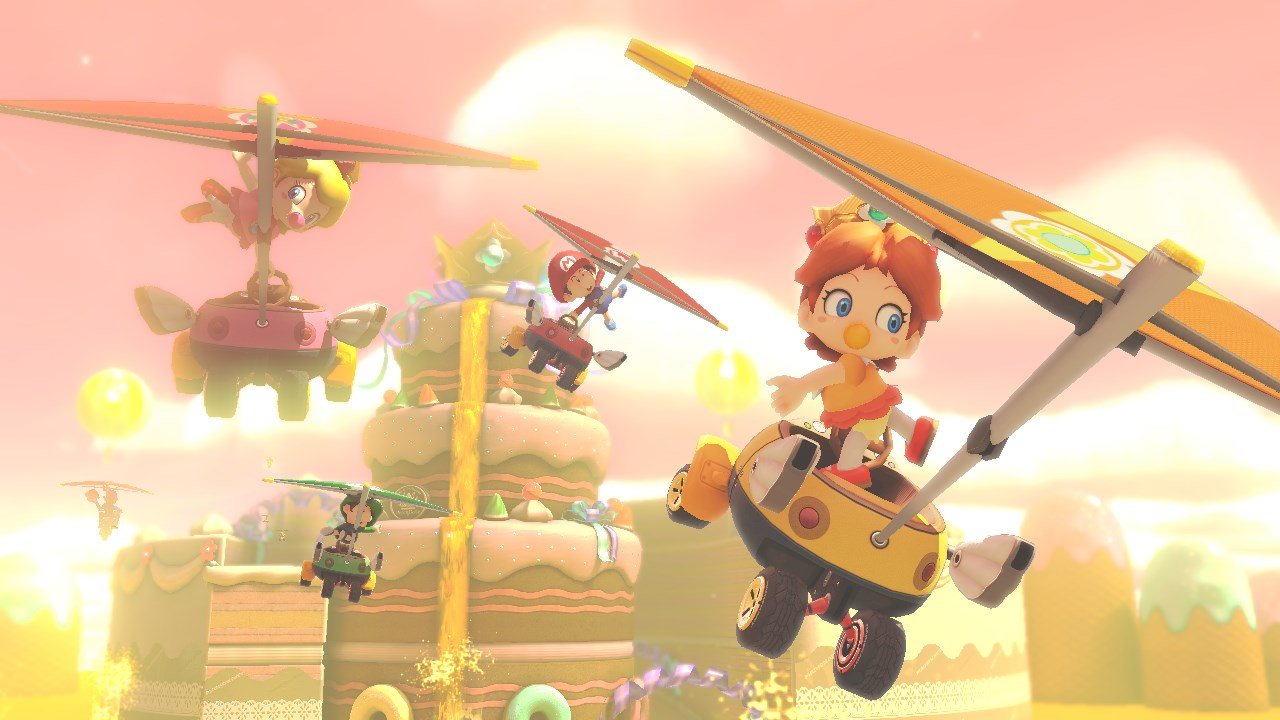 New Screens For Mario Kart Tropical Freeze And More