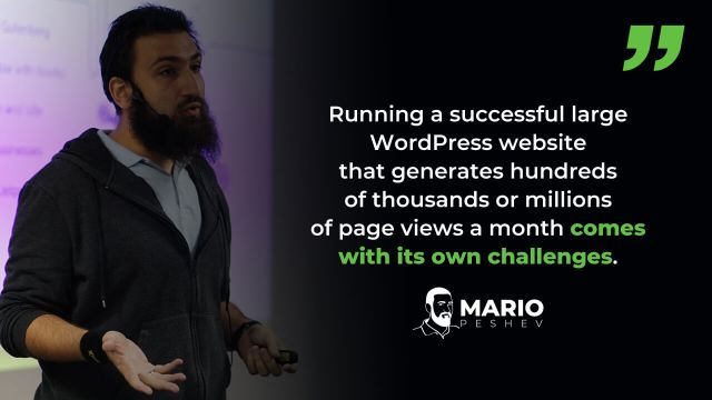 Running a Large WordPress Website