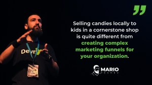 build a marketing startup