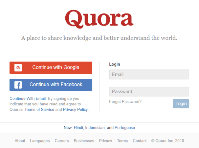 develop Quora