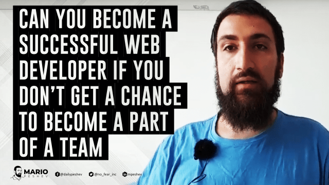 successful web developer