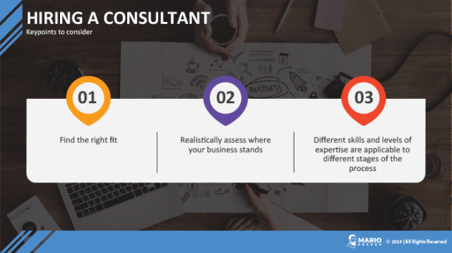 Hiring a Consultant to Scale Your Growth