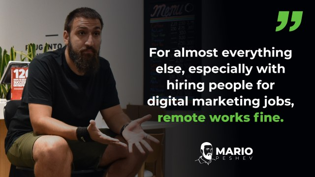 remote digital marketer