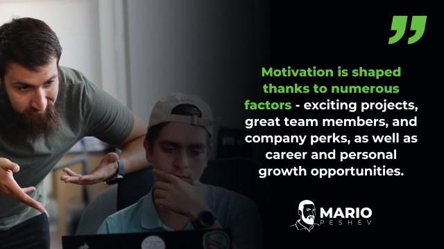 Employment motivation strategies