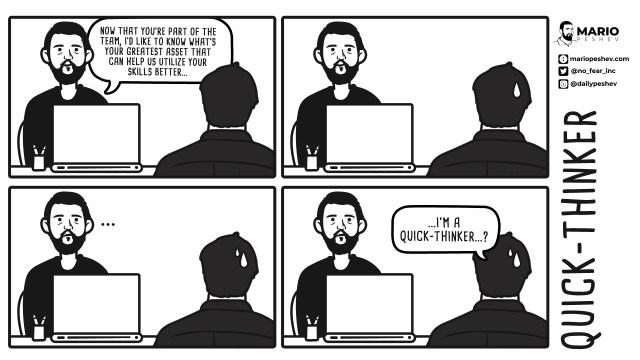Comics by Mario: Quick-Thinker