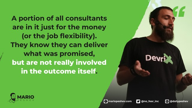 hiring a consultant
