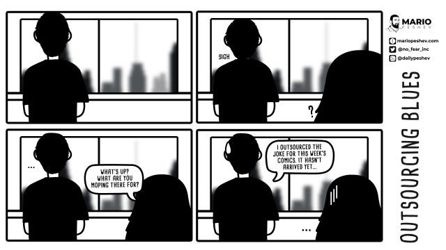 outsourcing comics