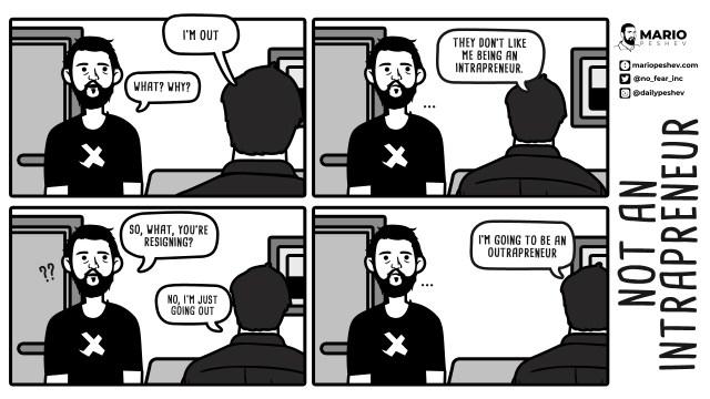 intrapreneur comics