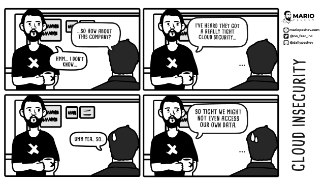 comics on cloud insecurity