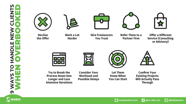 ways to handle new clients