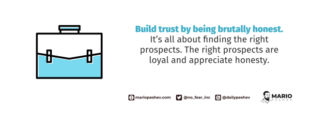 building trust with your clients