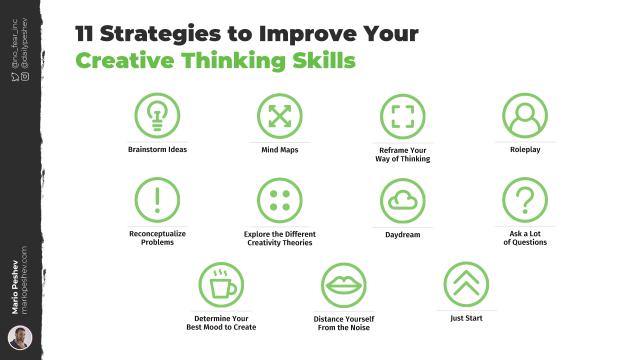 Strategies to Improve Your Creative Thinking Skills