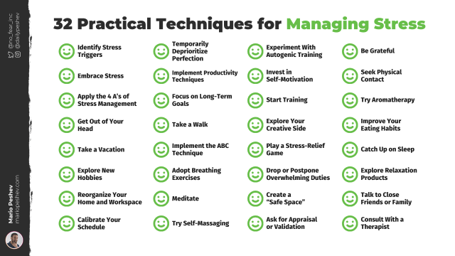 Techniques for Managing Stress