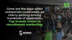 Investing in Recruitment Marketing