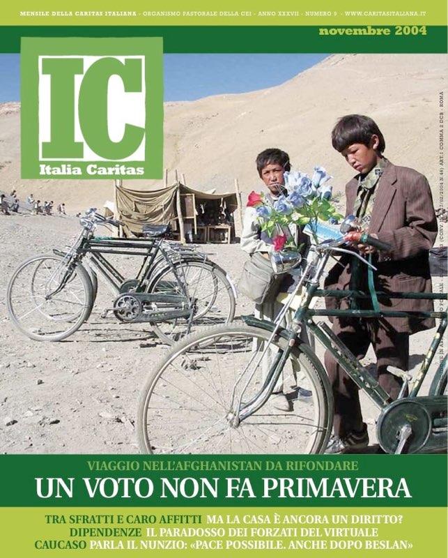 ItaliaCaritas 2004_09 - Afghanistan elections