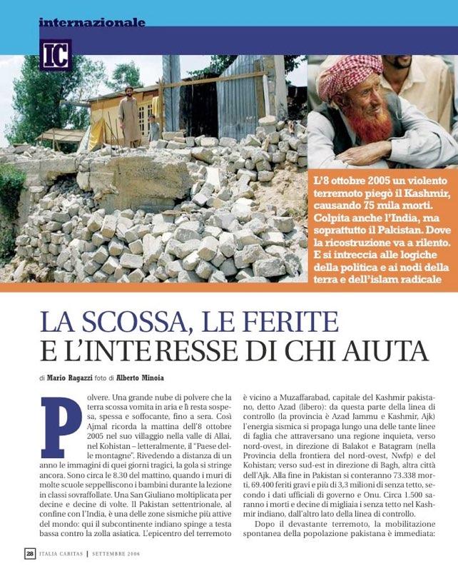 ItaliaCaritas 2006_09 - Terremoto in Pakistan