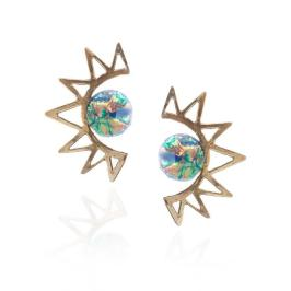 korona-sun-earrings-blue-stone