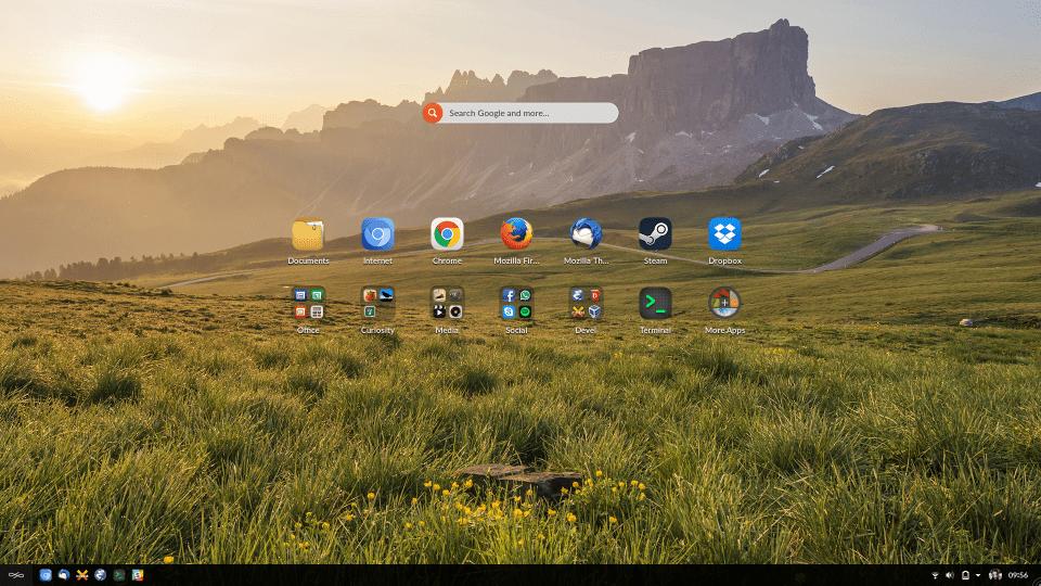 My EOS 3.2 Desktop