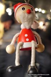 A Christmas ornament at Salzburg Christmas Markets