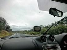 A rainy day in Launceston