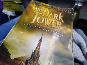 My friend gave me permission to take his copy of The Gunslinger to Singapore
