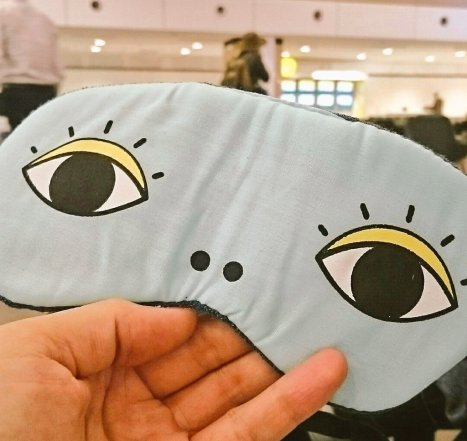 My eye mask from Daiso
