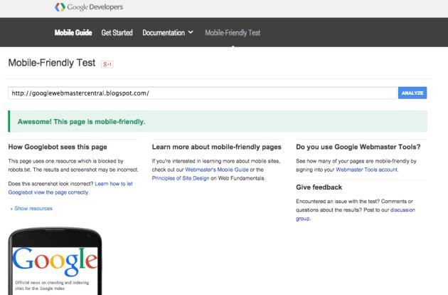 Teste de URL individual