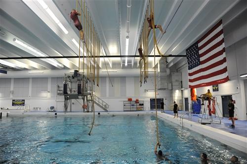 The new rescue swimmer school