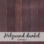 Holzwand dunkel (200 cm)