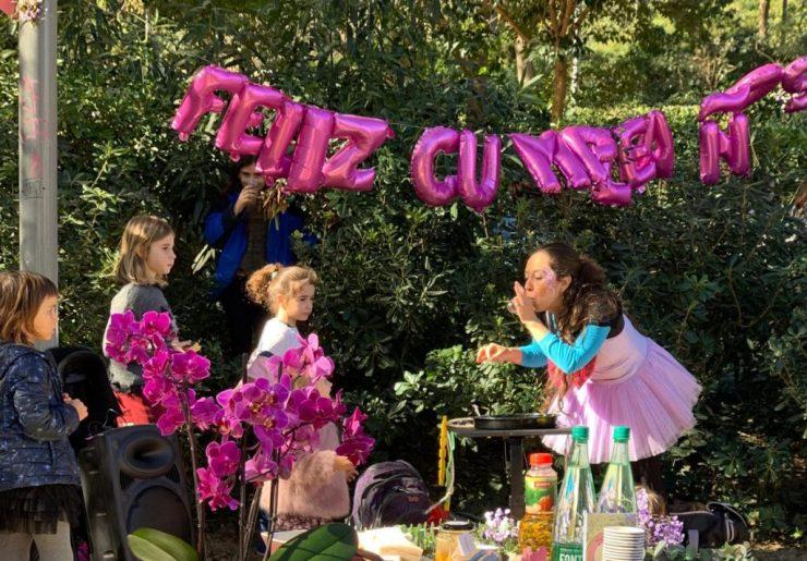 Fiestas infantiles en parques