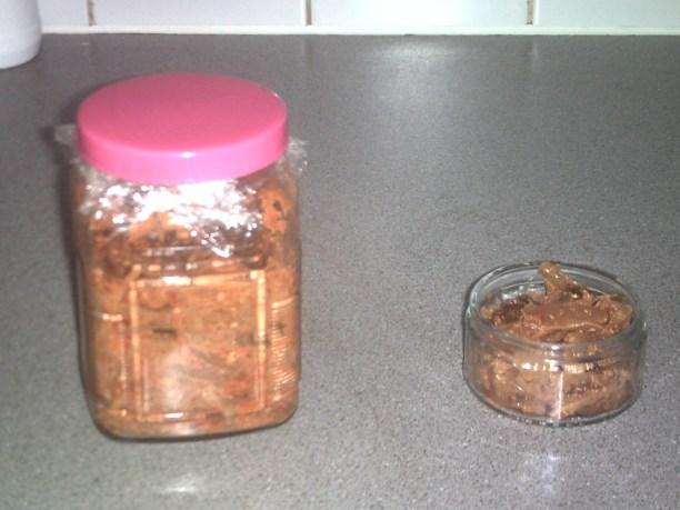 1 Week fermented Kimchi!!