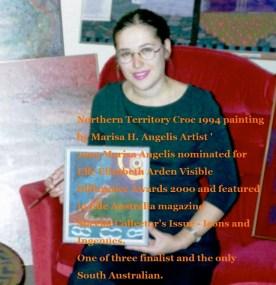 Marisa Angelis Picture Feature In The Elle Australia Magazine 2000
