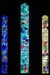 Vidriera, Iglesia de la Abadía de Fraumünster, Alemania