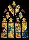 Vidriera, Catedral de San Esteban, Francia