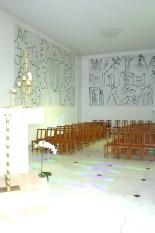 Vista desde el altar