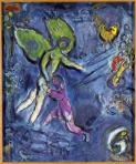 Jacob lucha contra el ángel