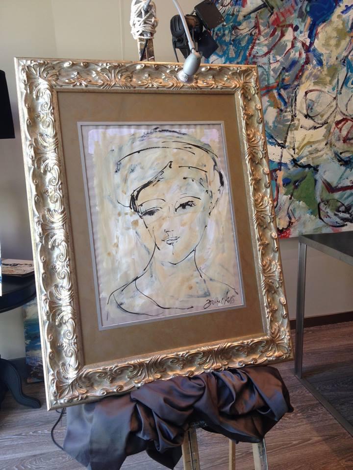 Retrato de Ana. Autor David Callau Gené
