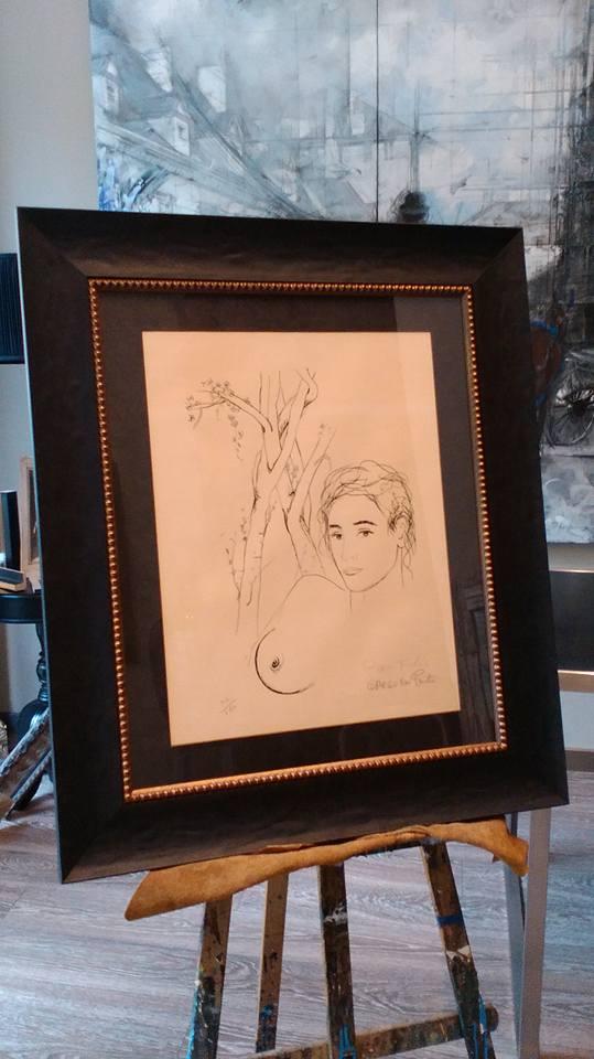 Dibujo a lápiz  #arte #cuadros #Zaragoza #MarisaCervantes #enmarcaciones